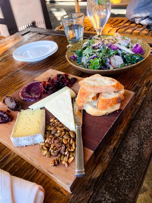 Pippin hill cheese board