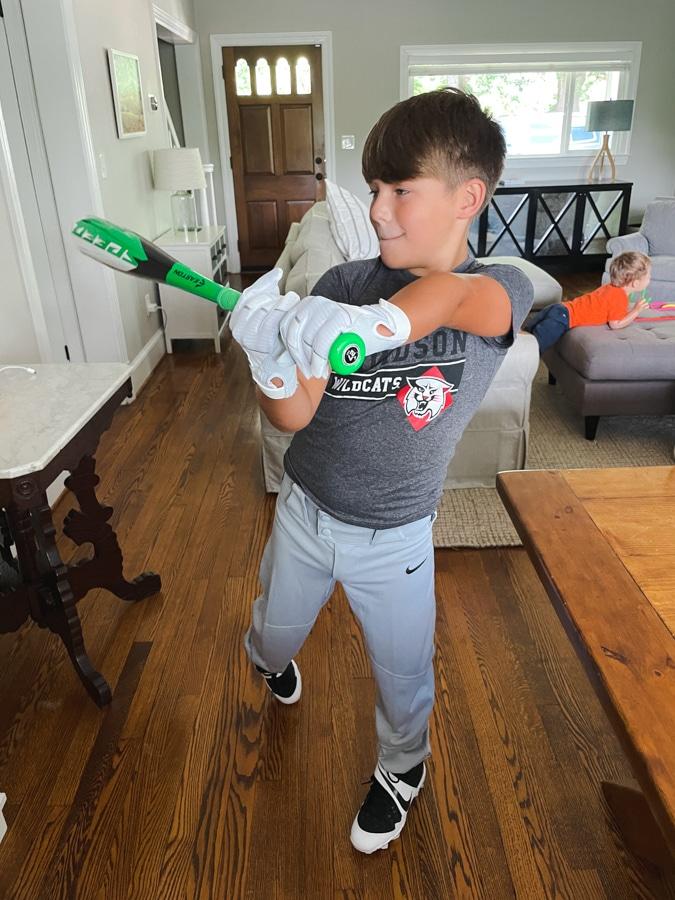 Mazen and baseball | Happy 9th Birthday Mazen!