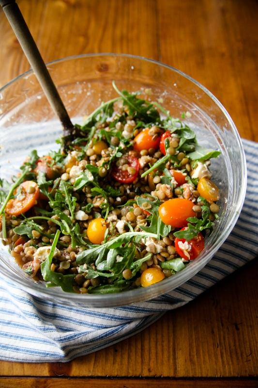 Simple Herby Lentil Salad
