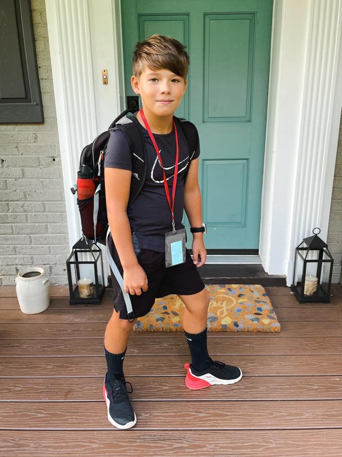 Nike boys school outfit