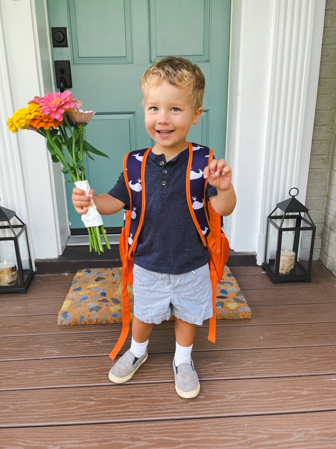 Boy's Back To School Outfit