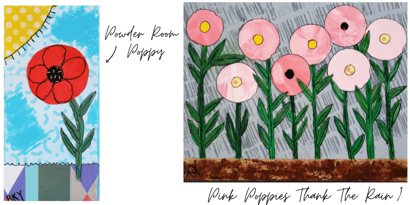 Powder Room Poppy