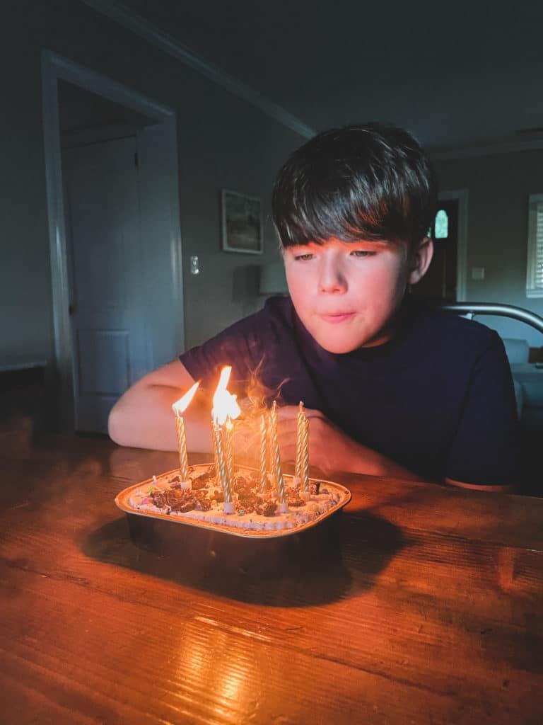 Cake Tin Celebration | Birthday Dinner at Public