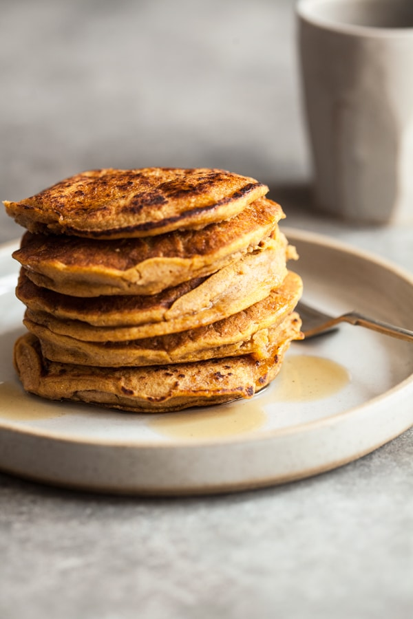10 Healthy & Delicious Millet Recipes | Sweet Potato Millet Pancakes via The Full Helping