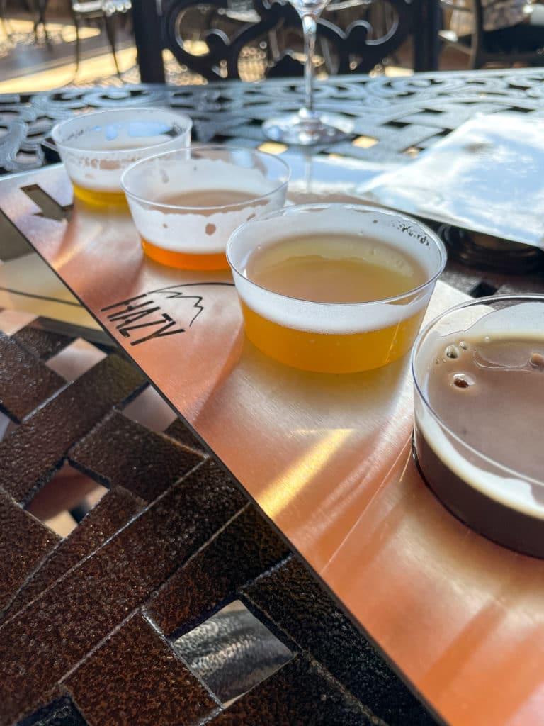 Beer + Wine Flight Virginia | Whats New in KERF Land