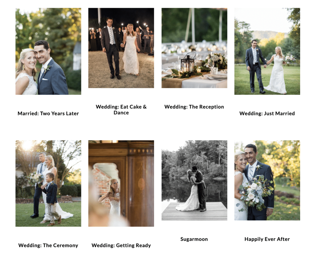 wedding post gallery